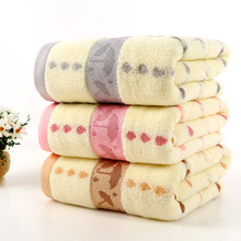 2017 New bathroom use  cheap towel 140X70cm  bath towels for adults 100% Cotton  beach towel brand gift