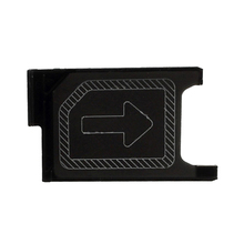 Replacement Original Z3 Mini SIM Card Tray For Sony Xperia Z3 Compact M55W Sim Tray Mobile Phone Repair Parts Free Shipping
