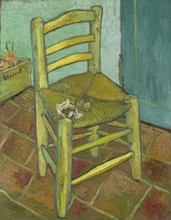 Van Goghs Chair - By Vincent Van Gogh - Unframed(China)