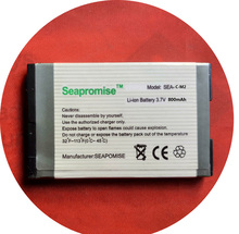 SEAPROMISE Free shipping wholesale 5PCS/LOT mobile phone battery C-M2 CM2 for Blackberry RIM Pearl 8100 8110 8120 8130 8230...(China)