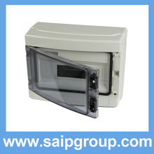 2014 Saip HA Series IP65 12Ways Plastic Power Electrical Distribution Box SHA-12WAYS