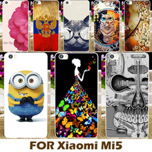Top Selling Painting design Hard Plastic Case For Xiaomi 5 Mi5 5.15 inch Mi 5 m5 Cell Phone Cover  Protective Sleeve Back Shell