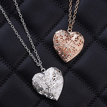N830 Hollow Heart Pendant Necklaces Fashion Jewelry LOVE Collares Geometric Charm Necklace Bijoux NEW Arrival 2017