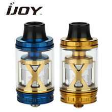 Original IJOY EXO XL Tank 5ml Subohm Atomizer 26mm Diamete r& 5ml Capacity Top Fill System with Pre-made XL-C2 and XL-C4 coils