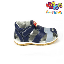 Promotion Soft Real Leather Male Toddlers Children Sandals Baby Boy Sandal Little Boys Closed Toes Kids Sandals Euro Size19-25
