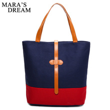 Mara's Dream  Handbags Women Bags Handbags High Quality Canvas Casual Tote Bags Shoulder Bags Women Top-handle Bag Female Bolsa