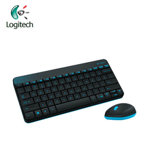 Logitech MK240 2.4Ghz Wireless Mouse and Keyboards Computer Combos with 1000DPI Waterproof for PC Mini Keyboard and Mice
