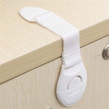 1 Pcs Cabinet Door Drawers Refrigerator Toilet Lengthened Bendy Safety Plastic Locks For Child Kid Baby Safety