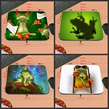New Design Unique High Quality Desktop Pad The frog lovely animals  Boy Gift Hot Sale Mouse Pad Computer Gaming MousePads