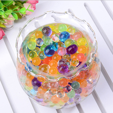10000pcs/pack Crystal Soil Balls 2.5-3.0mm Orbiz Grow Up Water Balls For Wedding Home Decoration Colorful Jelly Water Beads(China)