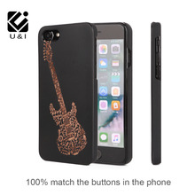 U&I Hot Hard Natural Wood+PC Combo Hard Shell Cover Phone Case for iPhone 5 6 6s 6plus 6splus 7 7plus Perfect fit mobile phone(China)