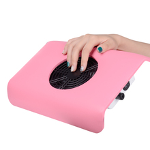 High Quality Vacuum Cleaner Suction Nail Art Salon 100-120V Suction Display Nail Dust Collector UV Gel Manicure Machine Tools