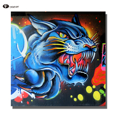 CHENFART Decorative Pictures Stree graffiti Posters and Prints Canvas Paintings for Bedroom with no Frame(China)