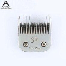 3 # сменные лезвия машинки для стрижки волос для собак Щенок(China)