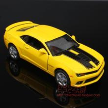 Brand New Cool 1/36 Scale Diecast Car Model Toys Vintage Chevrolet Camaro SS (1969) Metal Pull Back Car Toy For Children Gift