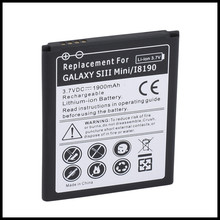 Newest Battery For S3mini battery 4 pins Replacement EB425161LU/EB-L1M7FLU for Galaxy S3 mini battery I8160 i8190 ace 2 battery(China)