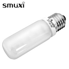 Smuxi 150W CFL Light Bulb E27 Professional Studio Modeling Strobe Flash Light Lamp Bulb Warm White Photography Lighting AC220V(China)