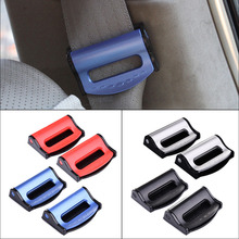 2pcs Car Seat Belts Clips Adjustable Auto Safety Seat Belt Stopper / Buckle Car Socket Safety Belt Buckles Interior Accessoreis(China)