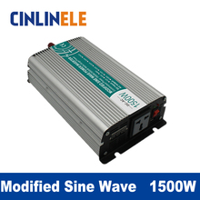 Modified Sine Wave Inverter 1500W CLM1500A DC 12V 24V 48V to AC110V AC220V  1500W Surge Power 3000W Power Inverter