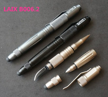 LAIX Tactical Pen Weapons for Self Defence Glass Breaker with Knife Outdoor Survival Tools Pens EDC Gear for Arme Auto Defense