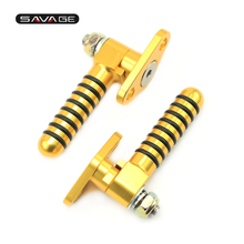 Buy Foot Pegs HONDA CRM 250AR 1995 1996 1997 1998 Rear Passenger Footrest Foot Rests CNC Aluminum Gold 1 Pair for $29.99 in AliExpress store