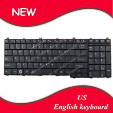 English keyboard For toshiba Satellite C650 C655 C655D C660 C665 C670 L650 L655 L670 L675 L750 L755 laptop US keyboard(China)