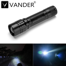 Mini t6 LED Pocket Light Black 2000 Lumens 5 Modes High Quality Lanterna Portable LED Flashlight 18650 Tactical Lantern Torch