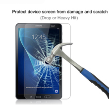 강화 (gorilla Glass) 대 한 Samsung Galaxy Tab A A6 10.1 2016 Screen Protector 대 한 Galaxy 탭 A 10.1 SM-T580 SM-T585 SM-587 SM-t585(China)