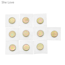 10pcs Invisible Hidden Sew Metal Magnetic Button Snap Magnet Fastener Handbag Cloth Bag Clasp(China)