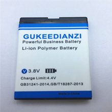 BL-6F 1200mAh 100% New Mobile Phone Battery For Nokia 6788 N78 N79 N95 6788 6788I  Replacement Li-ion Batteries