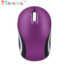 Mosunx Advanced 100% brand new and high quality Mini  Cute Mini 2.4 GHz Wireless Optical Mouse Mice For PC Laptop Notebook 1PC