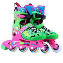 Professional Unisex Outdoor Inline Skates Roller Skating Shoes Hollow-out Slalom/Braking/FSK Hockey Patines Rollerblading(China)