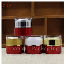 Wholesale 20 ml High Quality Glass Face Cream Jar, Female beauty &skin Care Cream Jar ,Empty Cosmetics Packaging Container