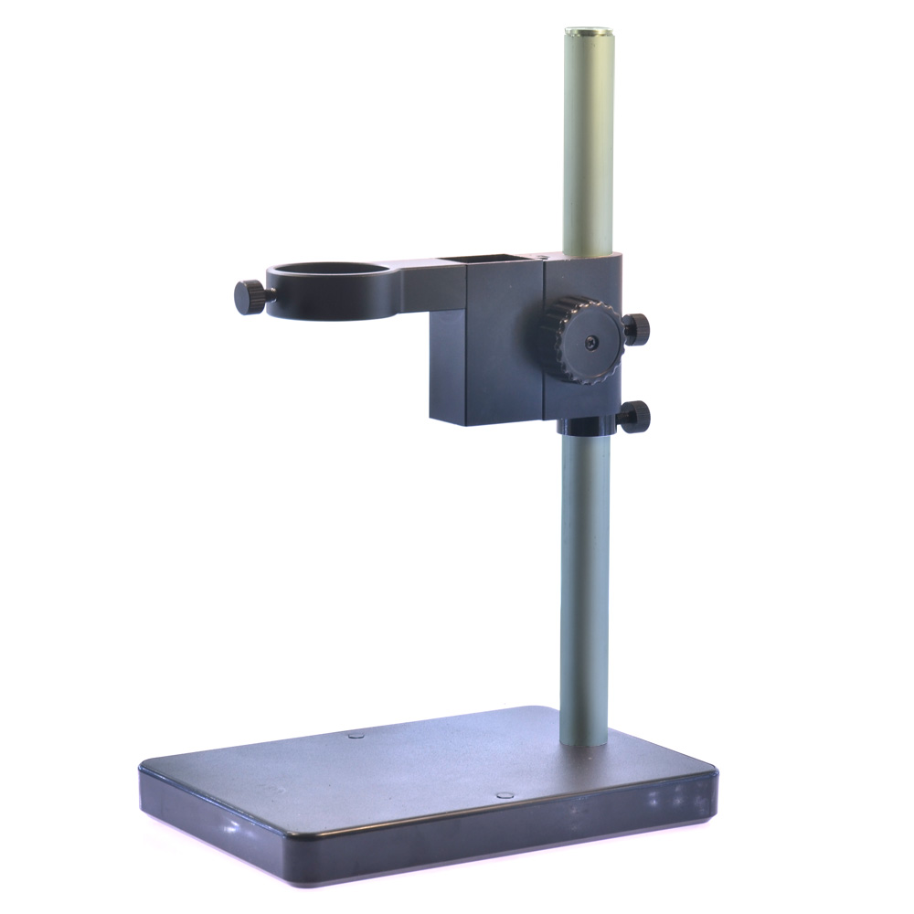 Microscope Camera Table Stand 50mm Ring Holder Gear Table Stand Metal Microscope Table Stand 50mm Ring for 180X lens<br>