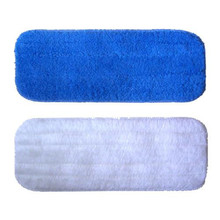 CCTM 2pcs Flat Mop Replacement Cloth Static Mop Cloth Magnetisation Cloth Wood Floor Mop Cleaning Cloth Seaweed Fiber Mop32x12cm