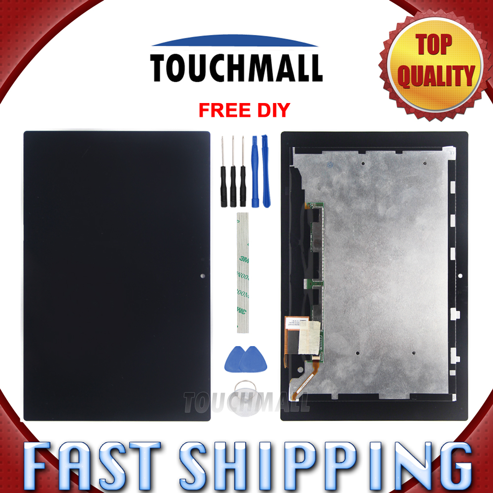New LCD Display Touch Screen Assembly Replacement For Sony Xperia Tablet Z 10.1 SGP311 SGP312 SGP321 10.1-inch Black + Tools