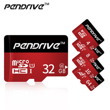 Pen Drive Red and Black Micro SD Card TF Card 4GB 8GB 16GB 32GB 64GB 128GB memory card C6-10 usb for moblie phone mini card