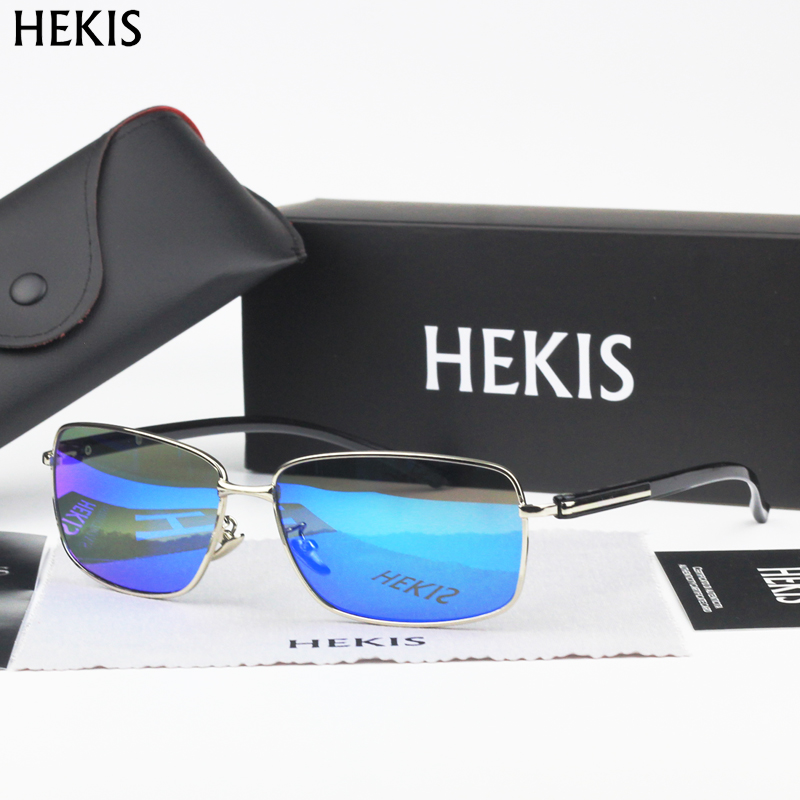 HEKIS Brand Brown Gradient Sunglasses Mens Sunglasses Driving Eyewear Accessories Sun Glasses Oculos De Sol For Men B2768<br><br>Aliexpress