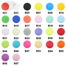 20 Sets KAM T5 Round Plastic Snaps  For Clothing Accessories Baby Snap Buttons Diy Press Stud Fasteners Poppers 12.2M