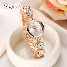 Lvpai 2016 Summer Style Gold Watch Brand Watch Women Wristwatch Ladies Watch Clock Female Wristwatches Stainless Gold Watches(China)