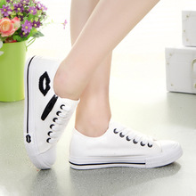Designer Summer Women Sneakers Lips Casual Canvas Shoes White Flats Trainers Basket Femme Zipper Red Blue Black Zapatos Mujer(China)