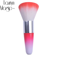 New 5 Color For Acrylic & UV Gel Gradient brush head Nail tools Brush /Nail Art Dust Cleaner