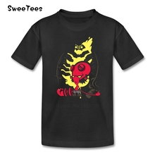 The Golden Army Boys Girls T Shirt Pure Cotton Short Sleeve O Neck Tshirt Children Tee Shirt 2017 Simple Style T-shirt For Kids
