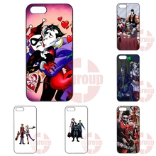 Marvel Comics Joker And Harley Quinn Batman Case  For Motorola Moto X Play X2 G G2 G3 G4 Plus E 2nd 3rd gen Razr D1 D3 Z Force