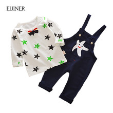 Starfish Baby Boy Girl Clothes Set Autumn Spring Kids Clothes for Boys Printing Cotton Toddler Suit Set Children's Clothing