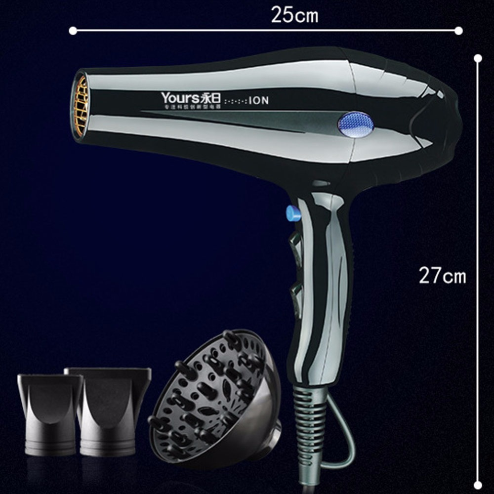 Yours Hair Dryer Professional 2300w Blow Dryer Powerful Lightweight Fast Dry Low Noise<br>