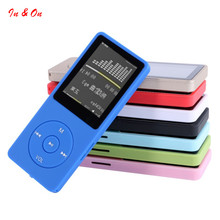 Ultrathin 8GB MP3 Player with 1.8 Inch Screen Can Play 50H With FM E-Book Clock Data A5