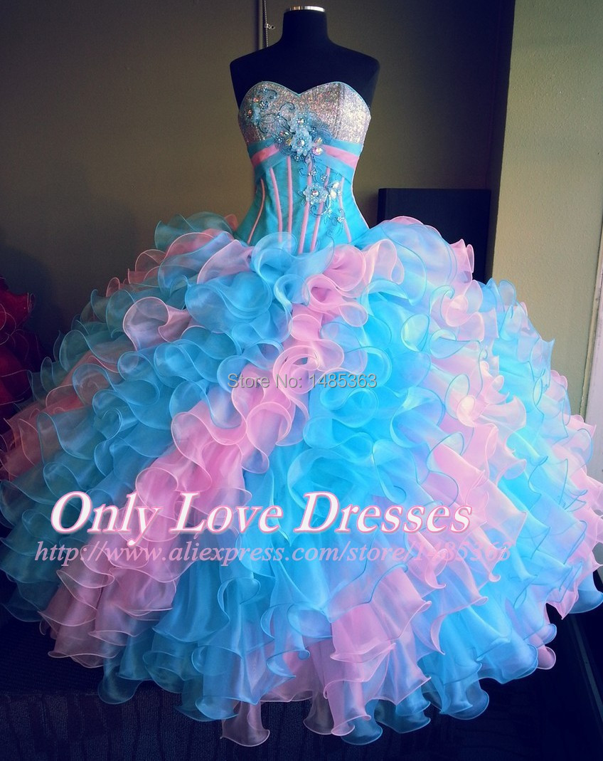 Popular Quinceanera Dresses 2015 Pink-Buy Cheap Quinceanera ...