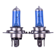 2pcs H4 Super Bright White Fog Halogen Bulb 100W Car Head Light Lamp h4 100W car styling car light source parking