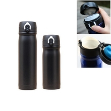 Buy Black Bycicle Water Bottle Bike Sports Stainless Steel Outdoor Sport Water Bottle 500ml Vacuum Flask AC1011-A5 for $10.49 in AliExpress store